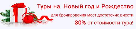 Экскурсионные туры на Новый год из Санкт-Петербурга