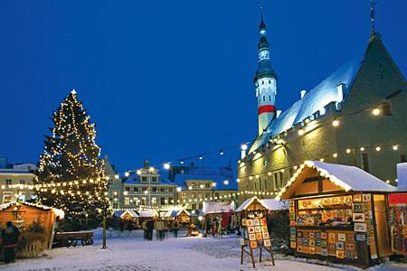 Таллин на новый год