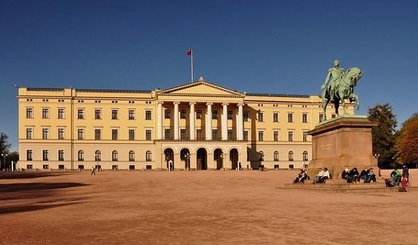 Королевский Дворец Осло, Норвегия, фото