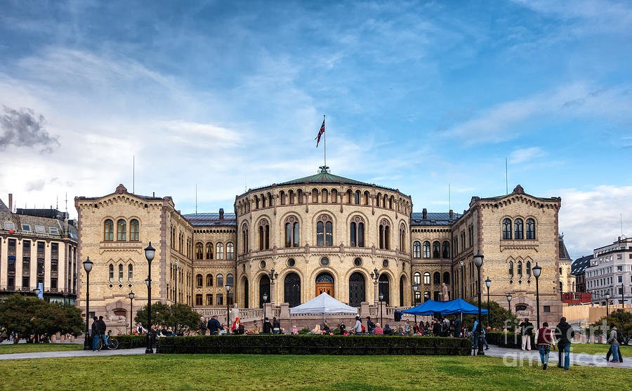 Фото Стортинг (Норвегия, Oslo)