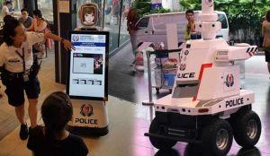 Робокоп в Сингапуре