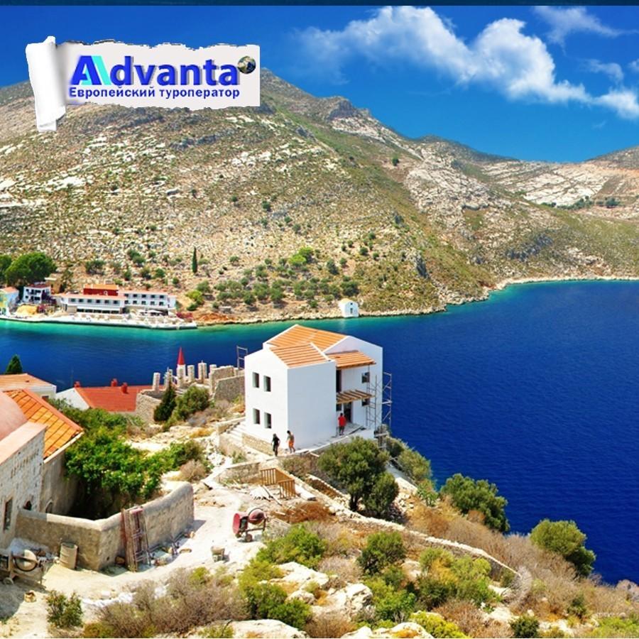 Греческое море летом