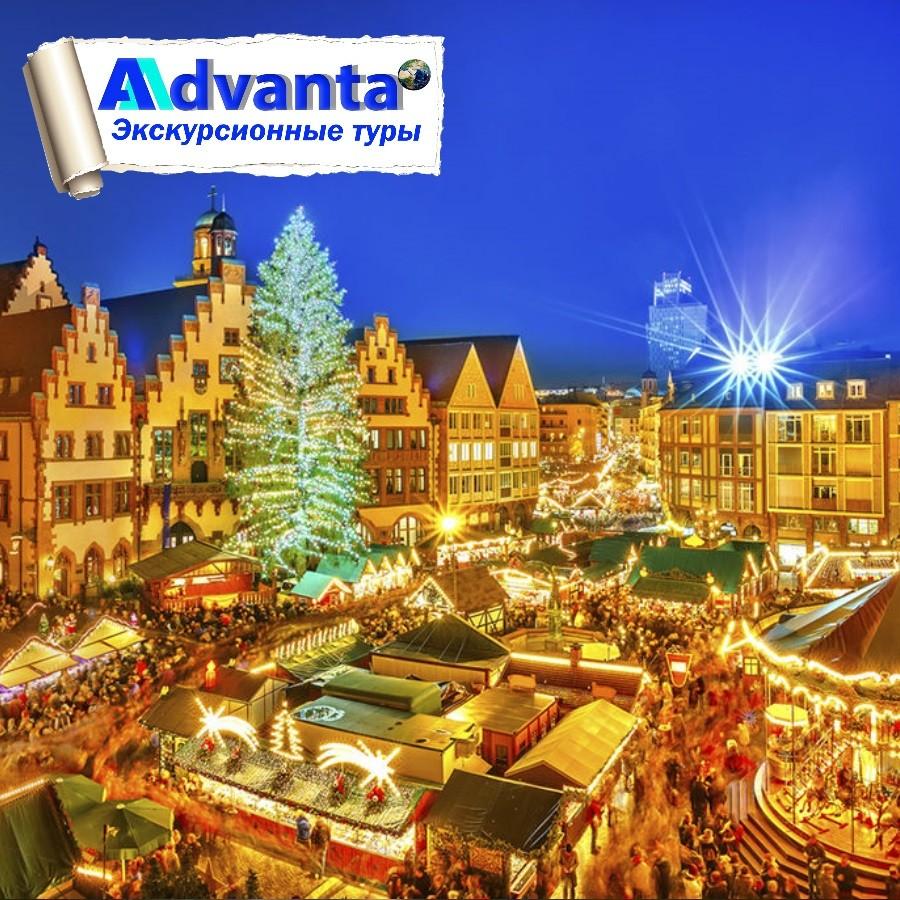 Замки Рейна на Рождество. Германия.