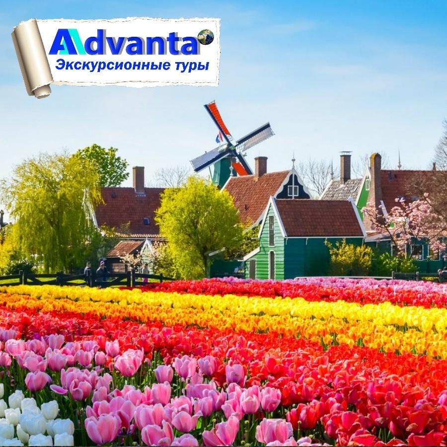 Голландия - Бельгия. Парк «Кёкенхоф» + парад цветов
